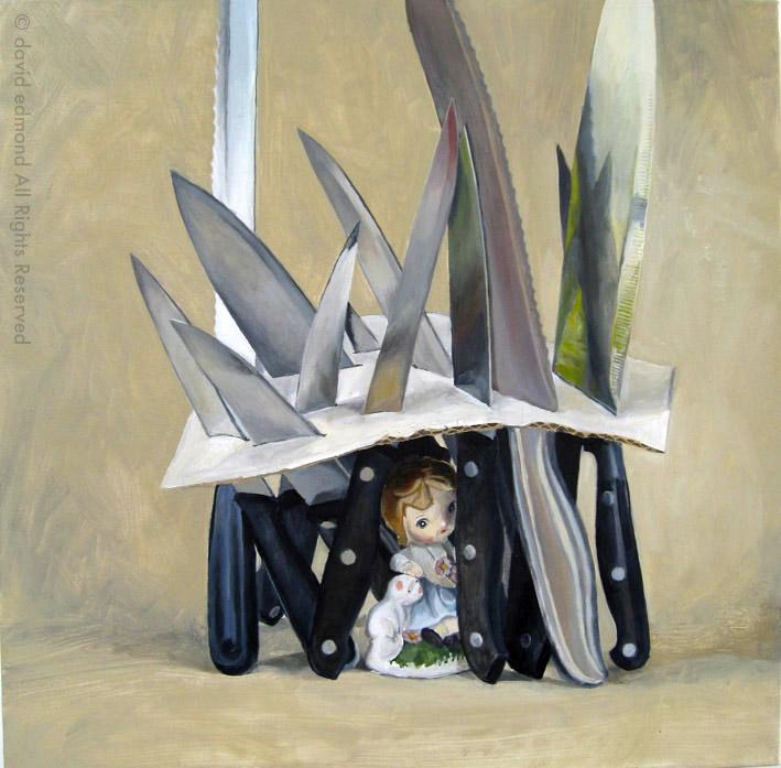 Home - David Edmond - 50 x 50 cm - Oil on Canvas