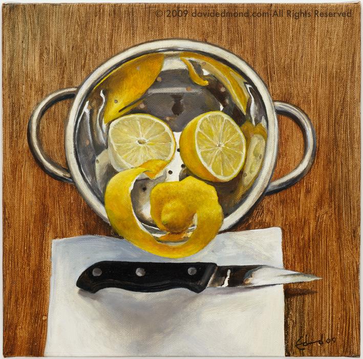 The Vicious Monkey - David Edmond - 30x30cm - Oil on Canvas