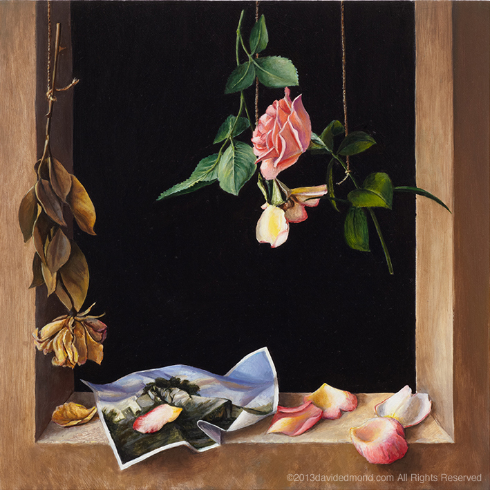 The Lost Dream - David Edmond - 40 x 40 cm - Oil on Board