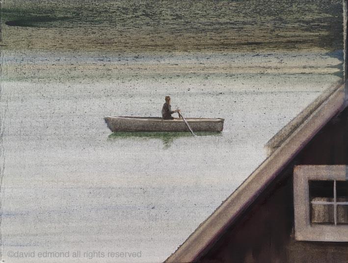 boat-4-oil-on-paper-305x245mm-david-edmond