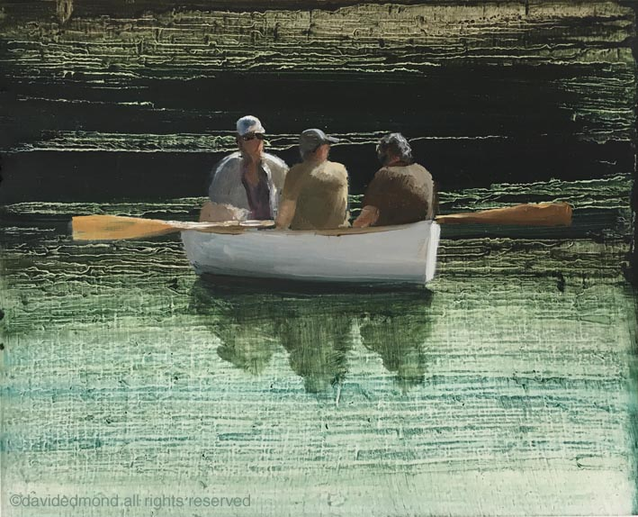 dingy-2-oil-on-board-david-edmond