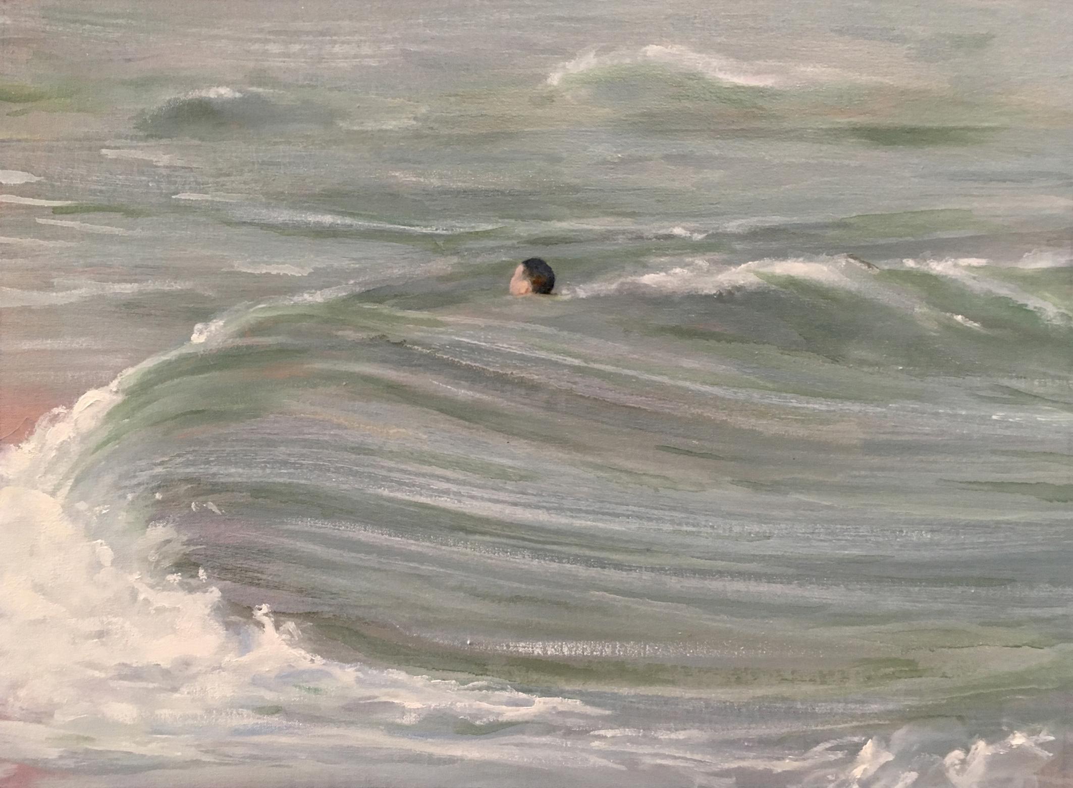 Untitled 3-Oil on Canvas-46x61cm-David Edmond
