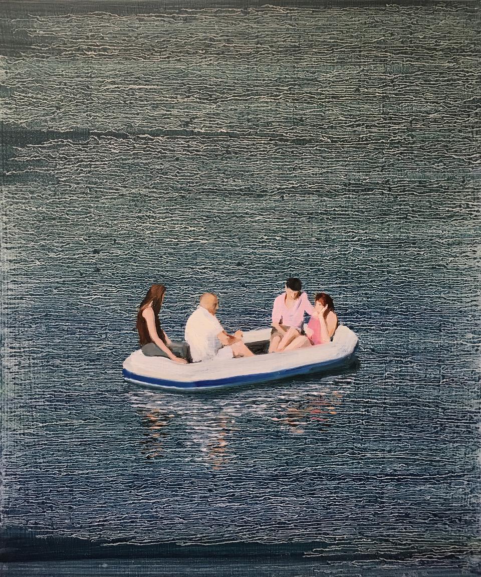 Sheppy - Oil on Board - 35x30 cm - David Edmond